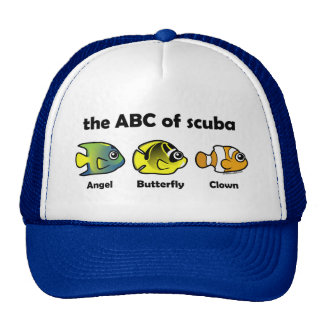The ABC of Scuba Trucker Hat
