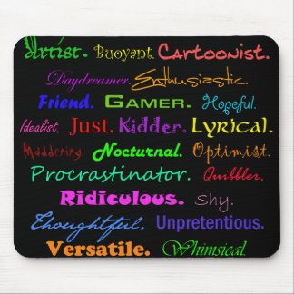 The ABCs of Me Mouse Pads