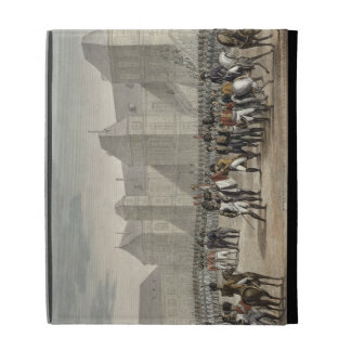 The Abdication of Napoleon and his Departure from iPad Folio Cases
