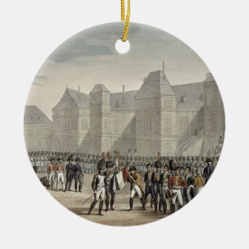 The Abdication of Napoleon and his Departure from Christmas Ornaments