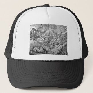 The Abduction of Bulls by Peter Paul Rubens Trucker Hat