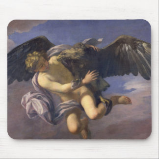 The Abduction of Ganymede, 1700 (oil on canvas) Mousepads
