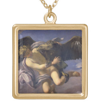 The Abduction of Ganymede, 1700 (oil on canvas) Jewelry
