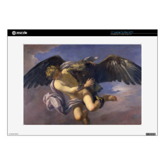 The Abduction of Ganymede, 1700 (oil on canvas) Laptop Decals