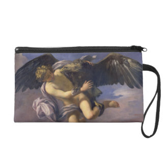 The Abduction of Ganymede, 1700 (oil on canvas) Wristlet Purse