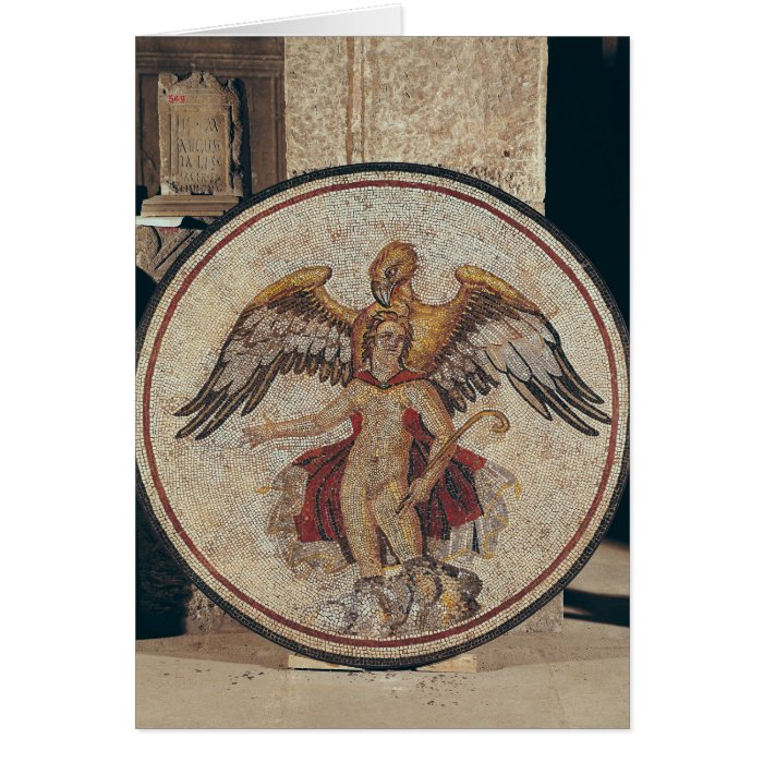 The Abduction of Ganymede, 2nd-3rd century Card