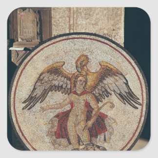 The Abduction of Ganymede, 2nd-3rd century Square Sticker