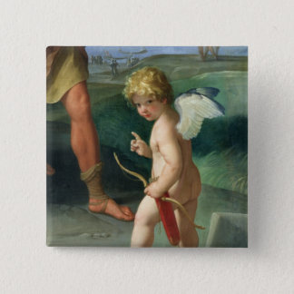 The Abduction of Helen, 1631 Pinback Button