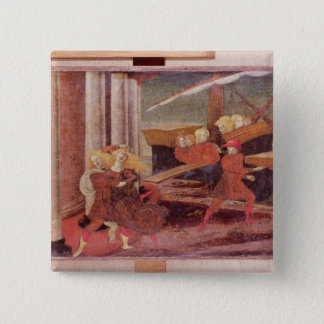 The Abduction of Helen, c.1470 Pinback Button
