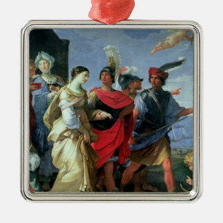 The Abduction of Helen, c.1626-31 Christmas Tree Ornaments