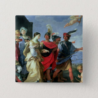 The Abduction of Helen, c.1626-31 Pinback Button
