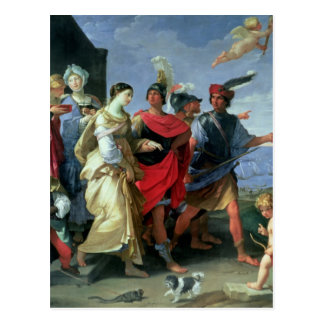 The Abduction of Helen, c.1626-31 Postcard