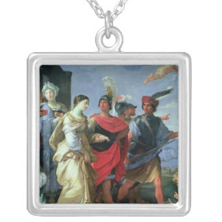 The Abduction of Helen, c.1626-31 Silver Plated Necklace