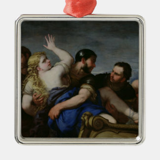The Abduction of Helen Ornaments