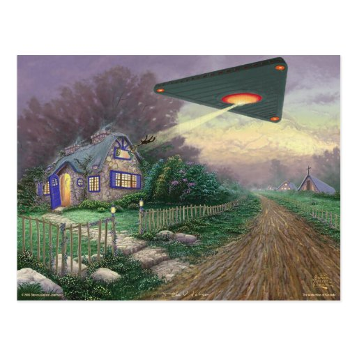 The Abduction of Kinkade Postcards