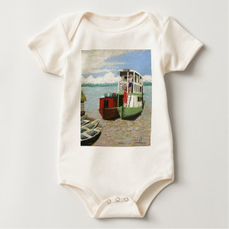 The ABEM Heading Out On The Peruvian Amazon Baby Bodysuit
