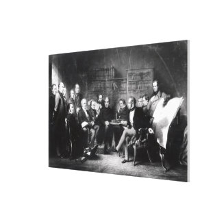 The Aberdeen Cabinet Canvas Print