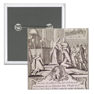 The Abjuration of Henri IV Pinback Buttons