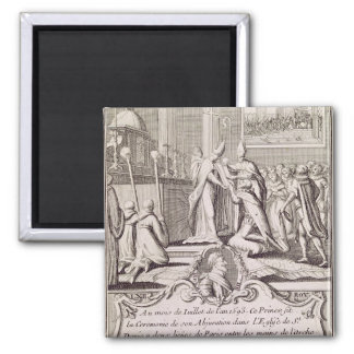 The Abjuration of Henri IV Magnet