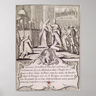 The Abjuration of Henri IV Poster