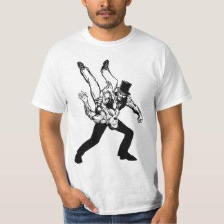 The Abraham Lincoln Chokeslam Light T Shirt