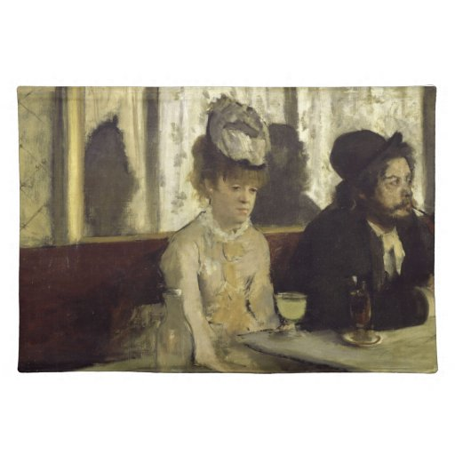 analysis of edgar degas l absinthe An example of one of edgar degas 'works was ballet rehearsal on stage, painted in 1874, was not a typical impressionist painting the painting is an oil on canvas.