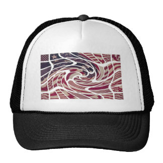 THE ABSTRACT AMERICAN TRUCKER HAT