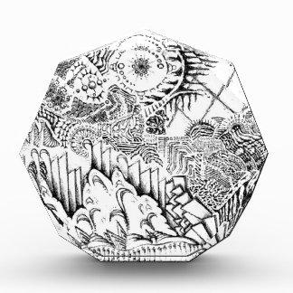 The Abstract Art of Michael Pearson Acrylic Award