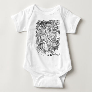 The Abstract Art of Michael Pearson Baby Bodysuit