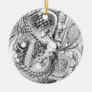 The Abstract Art of Michael Pearson Ceramic Ornament