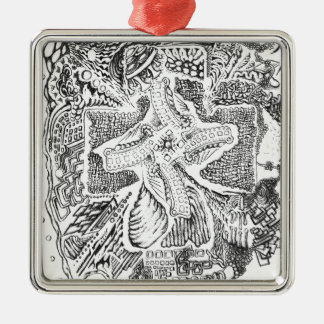 The Abstract Art of Michael Pearson Metal Ornament