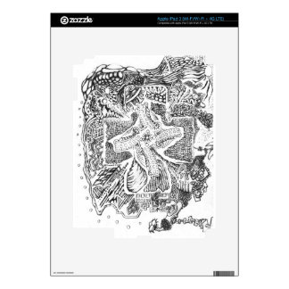 The Abstract Art of Michael Pearson Decals For iPad 3