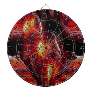 The Abstract Heart Dartboards