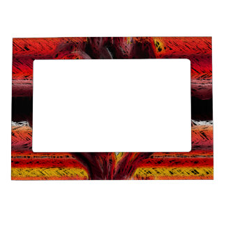 The Abstract Heart Magnetic Picture Frame