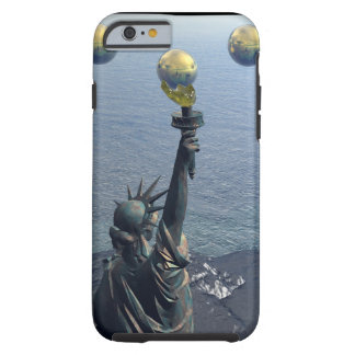 The Abstract New York Statue iPhone 6 Case