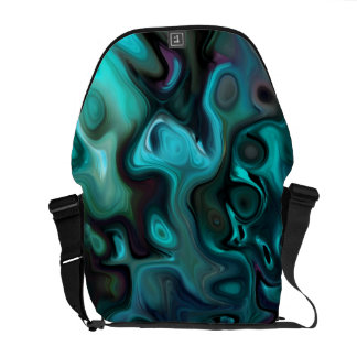The Abstract Sea of Inner thought: Messenger Bag