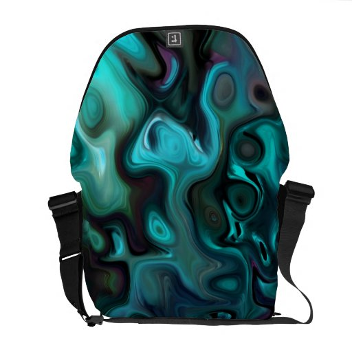 The Abstract Sea of Inner thought: Messenger Bags