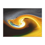 The abstract Trumpet Canvas Print