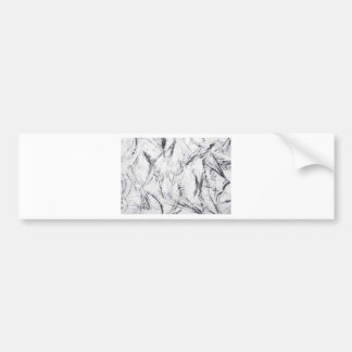 The Abstract War (allover pattern painting) Bumper Sticker