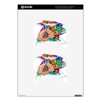 The Abstract Woman Xbox 360 Controller Decal