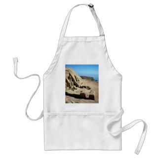 The Abu Simbel Temples, Egypt Desert Adult Apron