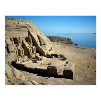 The Abu Simbel Temples, Egypt Desert Post Card