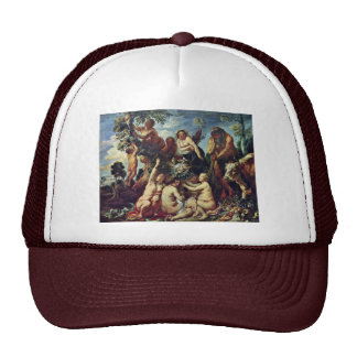 The Abundance Of The Earth By Jordaens Jacob (Best Mesh Hat