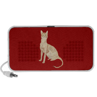 The Abyssinian Cat iPod Speakers