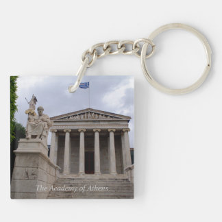 The Academy of Athens Acrylic Key Chains