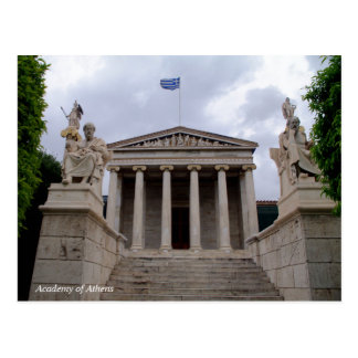 The Academy of Athens Postcard