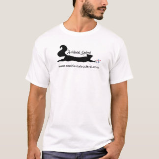The Accidental Squirrel logo tee