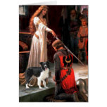 The Accolade - Border Collie (Z) Greeting Card