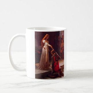 The Accolade by Edmund Blair Leighton Classic White Coffee Mug