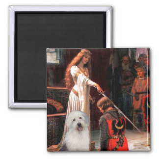 The Accolade - Old English Pup Magnet